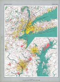 Washington Dc City Map by The National Atlas Of The United States Of America Perry