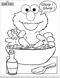 10 elmo images sesame streets coloring pages