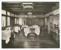 El Tovar Dining Room Atchison Topeka U0026 Santa Fe Railwaly Company U0027s Fred Harvey El