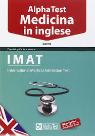 alpha test medicina in inglese imat amazon co uk 9788848316880