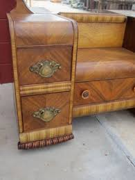 art deco bedroom suite circa 1930 for sale at 1stdibs waterfall style furniture waterfall bedroom set 1930 40