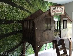 Pottery Barn Tree A Diy Club House Tree House Bed Inspired By Pottery Barn Kids