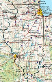 map usa illinois discover the usa map illinois