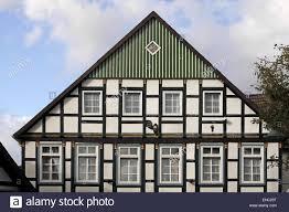 tudor style house in bad essen stock photo royalty free image