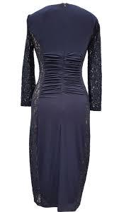 phase eight latoya lace navy blue dress size 16 u2013 carobethany