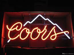 coors light bar sign 17x14 coors light mountain vintage beer bar pub club neon light wall