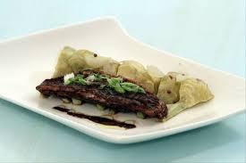 cuisine artichaut recette de filet de rouget à la tapenade et artichaut poivrade