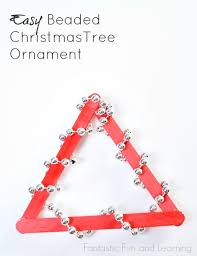 Easy Beaded Christmas Ornaments - easy beaded christmas tree ornament