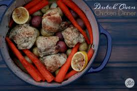 Easy Chicken Dinner Ideas For Family One Pot Meal Dutch Oven Chicken Dinner Recipe See Mom Click