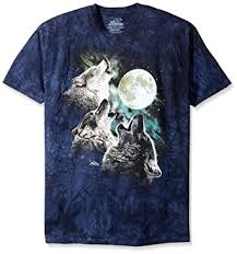 Wolf T Shirt Meme - com the mountain three wolf moon short sleeve tee clothing