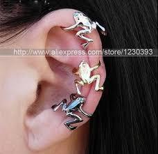 ear wrap wholesale new uk hot hopping frog cartilage helix ear cuff