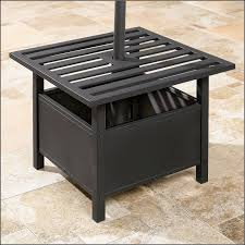 Small Patio Umbrellas by Patio Umbrella Stand Side Table Patios Home Decorating Ideas