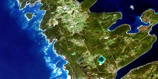 Satellite Map Live Cape Croker On Free Satellite Image Map 041a14 At 1 50 000