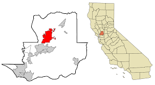 Vacaville Outlets Map Picha Solano County California Incorporated And Unincorporated