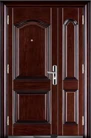 main doors imported steel main doors one and half leaf at rs 25000 unit