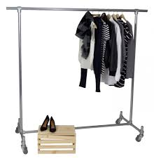 5 commercial clothing racks that you can put together yourself