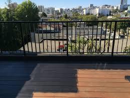 Pictures Of Painted Decks by Diy Painted My Outdoor Deck Railings Black Noznoznoz