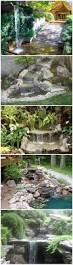 how to build a garden waterfall pond 3 outside house pinterest