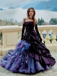 Purple Wedding Dress Dark Purple Wedding Dresses Wedding Dresses Dressesss