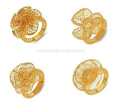 golden rings designs images Gold ring designs for female south india jewels jpg