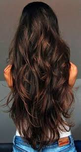 Hochsteckfrisurenen Lange Braune Haare by Die Besten 25 Lange Haare Ideen Auf Langes Haar Mit