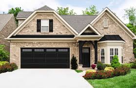 steel garage door painted black black steel garage door from