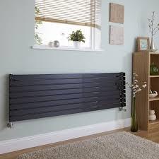 where should i position a radiator black horizontal designer radiator
