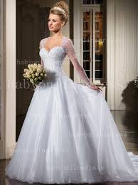 gowns for weddings see through sleeves bridal gowns sweetheart beading handmade