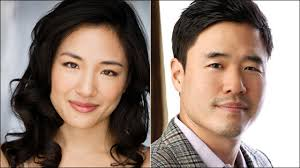 Randall Park Constance Wu And Randall Park Cast In U0027fresh Off The Boat U0027