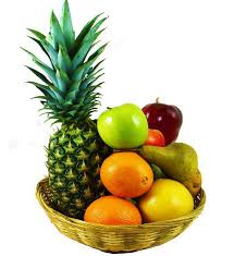 basket of fruits sensational fruit basket avas flowers
