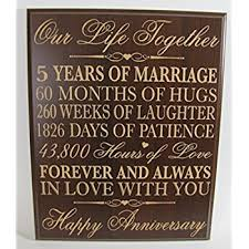 fifth wedding anniversary gifts 5th wedding anniversary gifts forever in with you