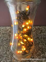 Diy Halloween Lighting by Halloween Lights In Vase