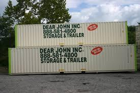 steel storage container rental dear john trailer rental