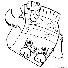 petkins dog snout petkins shopkins coloring pages printable