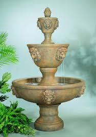 animal themed outdoor water fountains