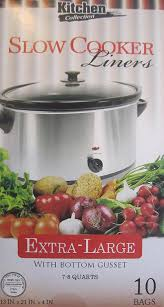 kitchen collection coupon amazon com kitchen collection crock pot liners extra large 10
