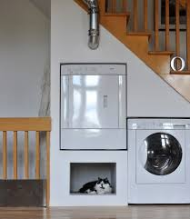 laundry room design ideas laundry room eclectic with white dryer