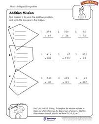 addition mission u2013 5th grade math worksheets u2013 jumpstart