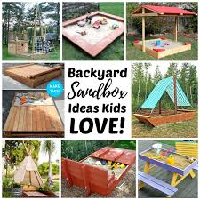 Backyard Ideas For Children Top 10 Backyard Sandbox Ideas Rhythms Of Play