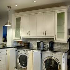 kitchen laundry ideas built in washer dryer hide away your laundry machine where no