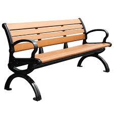 Wrought Iron Bench Wood Slats Composite Outdoor Bench Composite Outdoor Bench Suppliers And