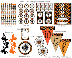 5 free vintage and retro halloween craft printables for home
