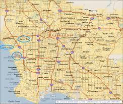 Culver City Map Los Angeles Part 2 Alizarine