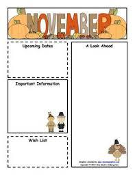 free teacher newsletter templates downloads newsletter templates