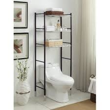 bathroom shelves over toilet shelves ideas
