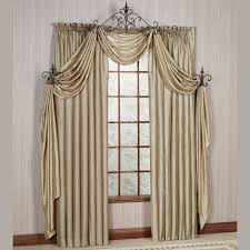 whisper crushed satin window treatment