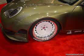 lexus v8 conversions kw germanboost sema 2014 superb or sacrilege porsche 996