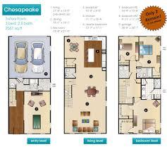 floor townhouse plans with garage new construction bensalem bucks