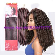black cuban twist hair 2018 14inch soft cuban twist faux locks dreadlockstwist hair