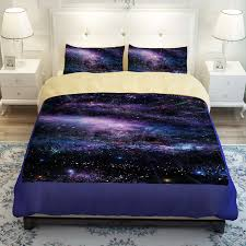 galaxy print bedding set tokida for